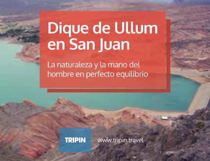Dique de Ullum en San Juan