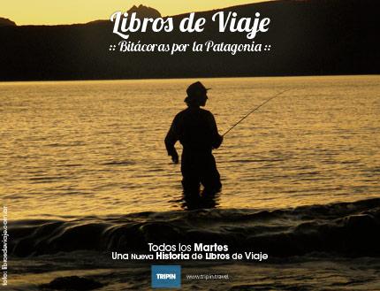 Libros de Viaje, la familia que viaja por la Patagonia, hoy... en la Boca del Limay en Bariloche