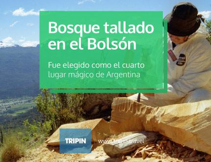 El Bosque Tallado en el Bolsón es uno de los 4 lugares magicos 2014 de Argentina