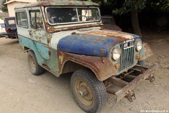 El salvador, el jeep de antaño