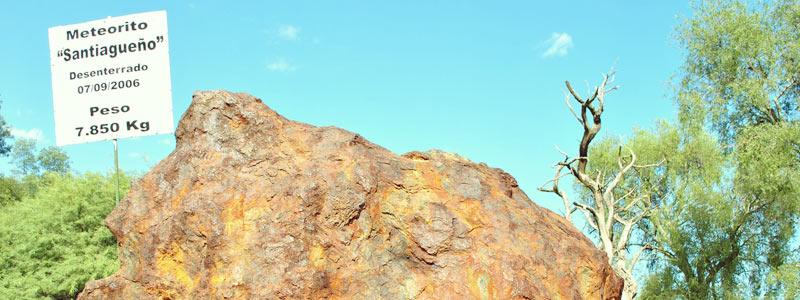 Meteorito Santiagueño en Campo del Cielo en Chaco