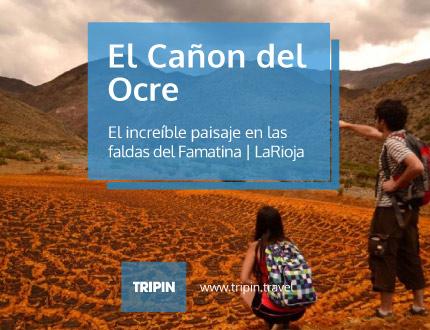 El Cañon del Ocre en las faldas del Famatina en La Rioja