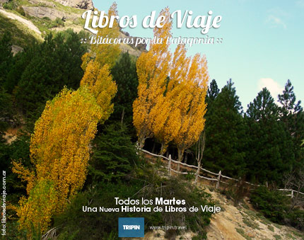 Libros de Viaje a puro canopy en San Martin de los Andes, Patagonia Argentina