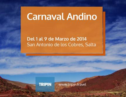 Carnaval Andino 2014 en San Antonio de los Cobres, Salta