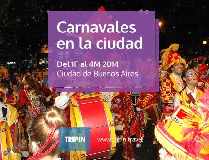 Carnaval en la ciudad de Buenos Aires, murgas, corsos y color en la ciudad