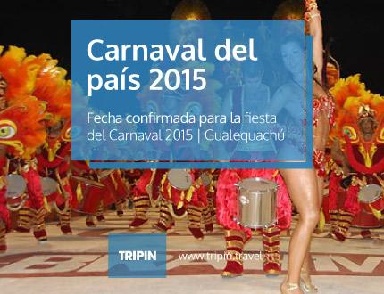 El carnaval de Gualeguaychu 2015 con fecha confirmada de inicio