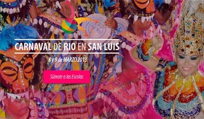 Carnaval de Rio en San Luis 2013