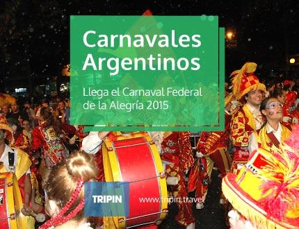 Los carnavales argentinos se viven en febrero, llega el carnaval federal de la alegria 2015