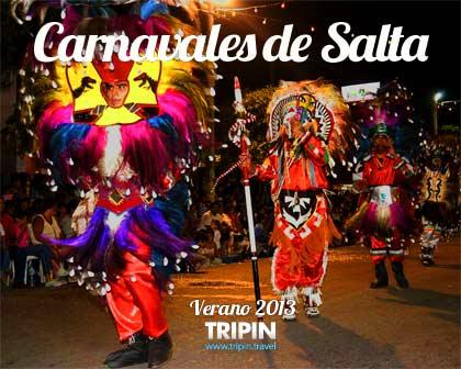 Los carnavales de Salta en el 2013