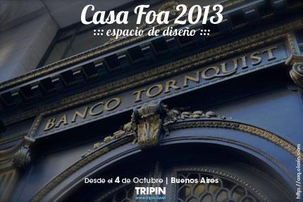 Casa Foa 2013 en Buenos Aires