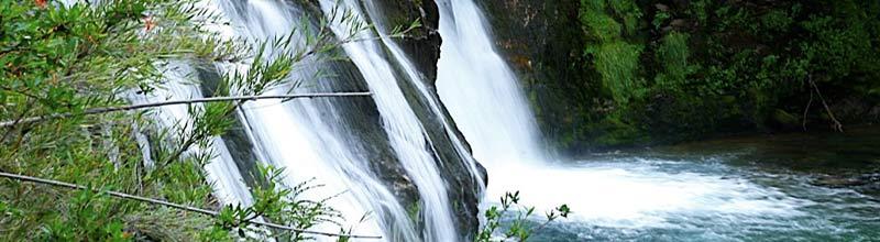 Cascada Ñivinco en el maravilloso Nahuel Huapi