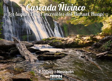 Cascada Ñivinco en el PN Nahuel Huapi