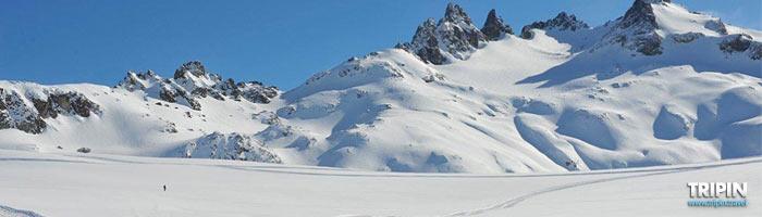 Cerro Perito Moreno, ski en el Bolson