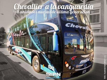 Chevallier a la Vanguardia, agrego 8 unidades de ultima generacion a su flota verano 2014