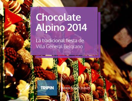 Fiesta del chocolate alpino 2014 en Villa General Belgrano