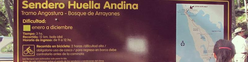Sendero Huella Andina, imperdible!!