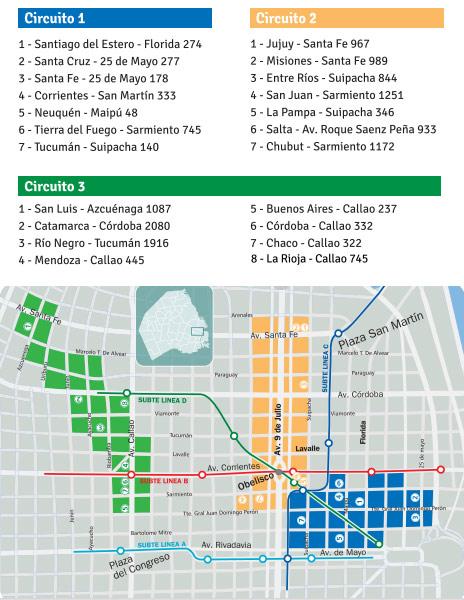 Circuito 2013 de la noche de las provincias en Buenos Aires