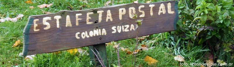 Estafeta postal de colonia suiza por libros de viaje