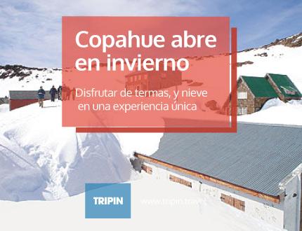 Copahue abre sus puertas en invierno, una experiencia única
