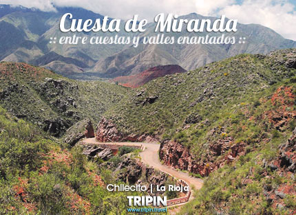 Cuesta de Miranda en La Rioja