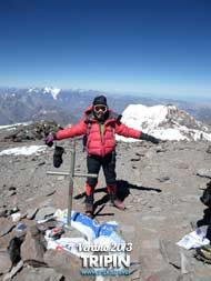 Cumbre del Aconcagua de la Mano de Mountain duck