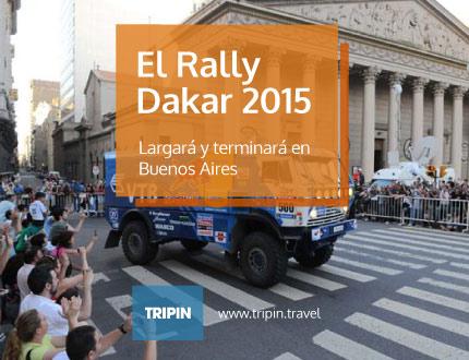 El Rally Dakar 2015, largará y terminará en Buenos Aires
