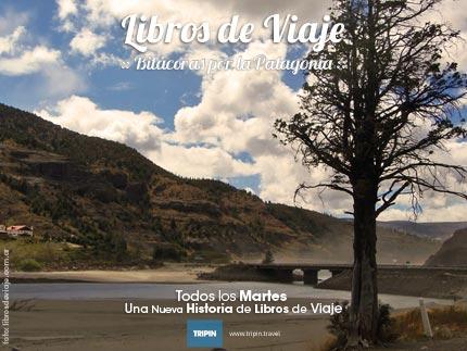 Libros de viaje en la Desembocadura del rio Traful en Rio Negro