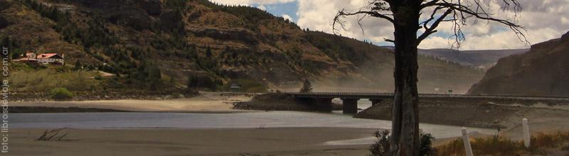 La desembocadura del Rio Traful visitado por Libros de Viaje