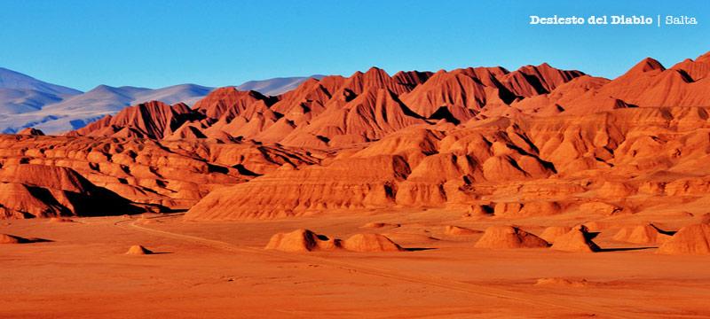 Desierto del Diablo en Salta | Lugares de otro planeta parte III
