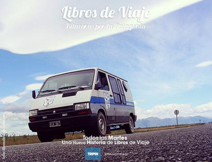 Libros de viaje en el desierto Patagonico
