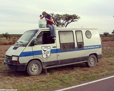 Libros de viaje y una aventura en el desierto patagonico