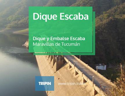 Dique y embalse Escaba, una de las maravillas de Tucumán