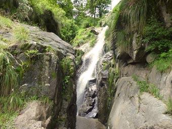 La cascada o chorro en los alrededores del dique Escaba
