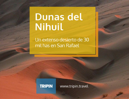 Dunas del nihuil en Mendoza, uno de los imperdibles de San Rafael