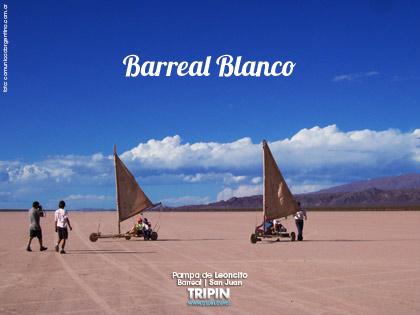 El Barreal Blanco o Pampa de Leoncito en San Juan