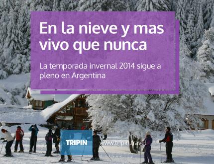 En la nieve más vivo que nunca | NIEVE ARGENTINA |