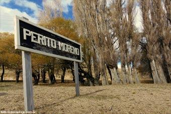 La estación Perito Moreno contada por la familia que viaja por la patagonia