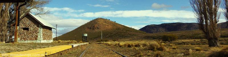 La vieja estación Perito Moreno del Tren Patagonico, contado por LibrosDeViaje