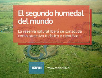 Reserva natural Iberá, el segundo humedal mas importante del mundo