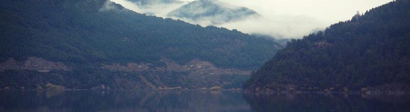 La ultima posta del Lago Lacar de nuestro viaje por el Otoño en 7 lagos