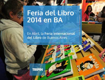 Feria del Libro 2014 en Buenos Aires, en su 40° edición del evento internacional