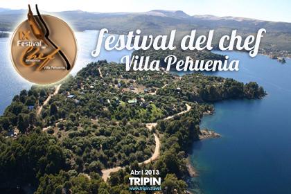 Festival del cheff patagonico 2013 en Villa Pehuenia