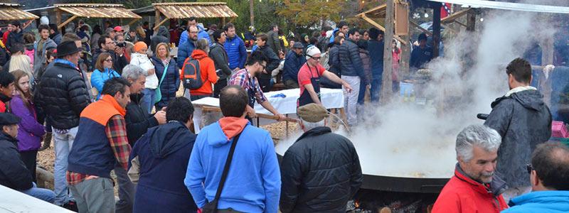 El festival del chef patagónico en Villa Pehuenia