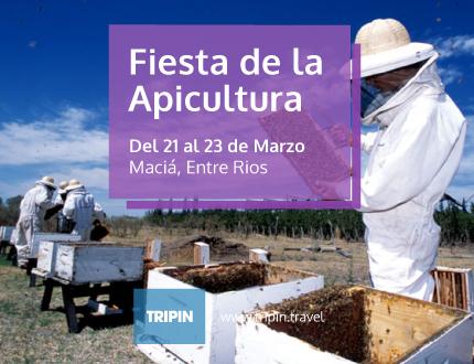 Fiesta de la apicultura 2014 en Maciá, Entre Rios con Abel Pintos