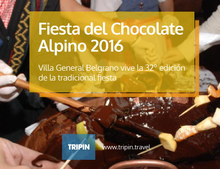 Fiesta del Chocolate Alpino 2016 en Villa General Belgrano