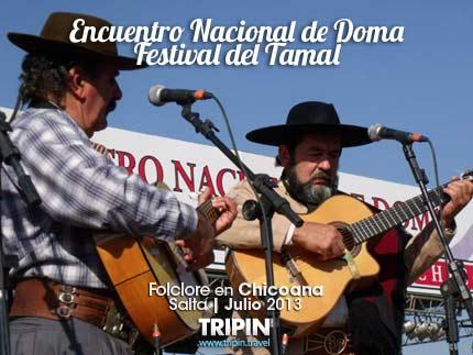 Doma y tamales en Chicoana
