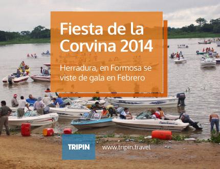 La Fiesta de la Corvina 2014 en Herradura, se vivirá en Febrero en Formosa!