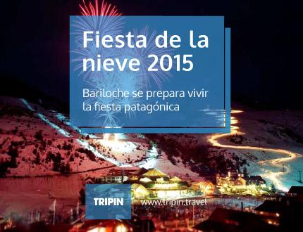 Fiesta de la nieve 2015 en Bariloche, una de las celebraciones más importantes de la Patagonia