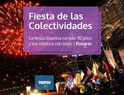 Fiesta de las colectividades 2014 en Rosario, en su cumple numero 30