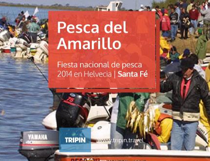 Fiesta Nacional de Pesca del Amarillo 2014 en Helvecia, Santa Fe